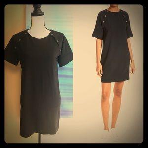 Athrina K Black Dress